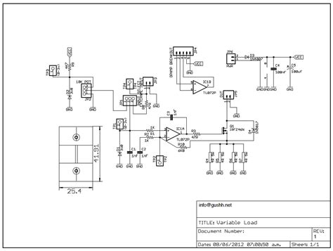 variable load resistor circuit diagram variable digital load kit