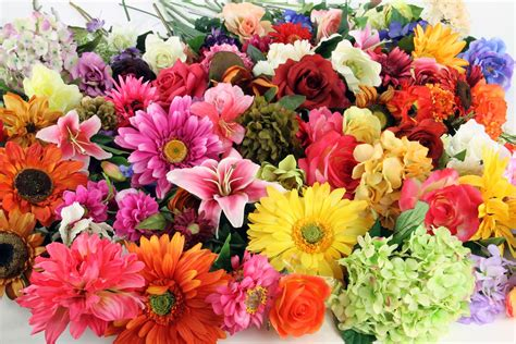 fake flowers fake flowers flowers wallpapers