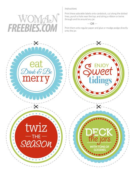 printable label for jar 9 best images of printable christmas labels for jars
