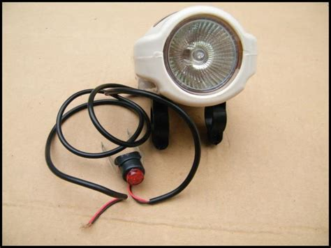 Lu Led Motor Satria F china universal led stop light number license l
