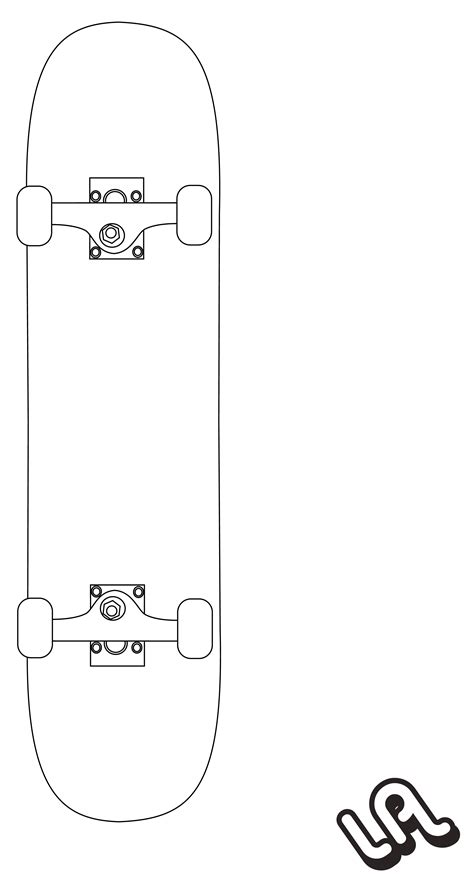Skateboard Vector By Luther1000 On Deviantart Skateboard Design Template