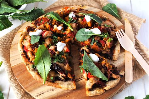 vegetables on pizza roasted vegetable pizza with dairy free b 233 chamel