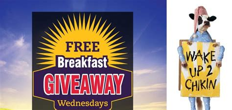 Chick Fil A Breakfast Giveaway - chick fil a quot free quot breakfast giveaway select jacksonville ga locations sensible