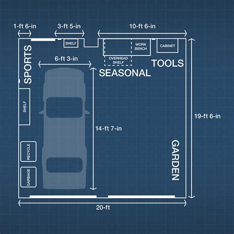 Garage Storage Layout Plans Garage Storage And Organization Ideas