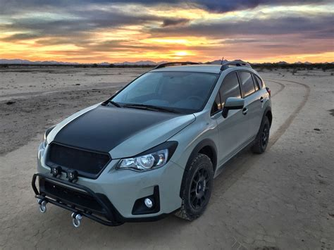 subaru crosstrek 2016 off road installed gorilla off road bar club crosstrek subaru
