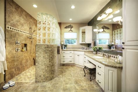 curbless appeal bathroom sacramento by dreambuilders