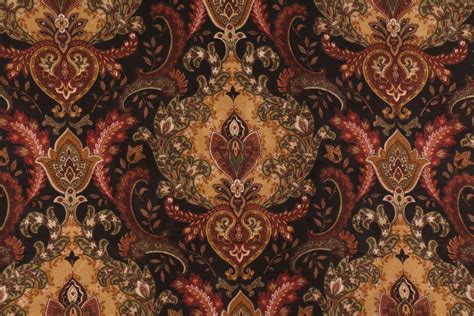 Mill Creek Upholstery Fabric by Lahore In Onyx Printed Cotton Drapery Fabric By Mill Creek