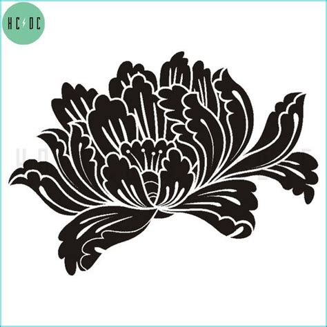 peony pattern font stencil patterns peonies and stencils on pinterest