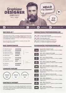 Curriculum Vitae En Francais by Tuto Gratuit Cr 233 Er Un Cv Graphique Sous Photoshop Avec