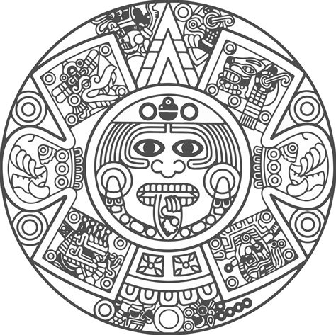 imagenes de simbolos aztecas related keywords ornamento vector png buscar con google tatto
