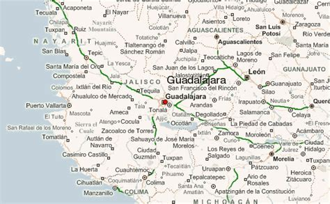 guadalajara map guadalajara location guide