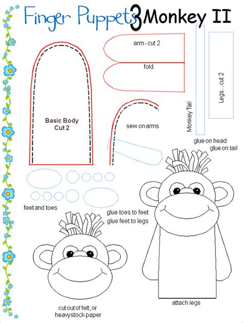 finger puppets templates 11 finger puppet templates free pdf documents