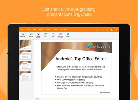 pdf editor android officesuite free office pdf editor android apps on play