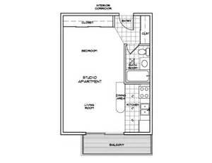 Studio Floor Plans by Studio Floor Plan