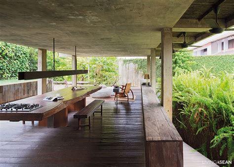 modern tropical home  indonesia living asean
