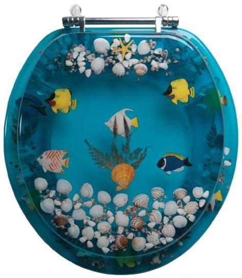 toilet seats  lifelike butterflies seahorses