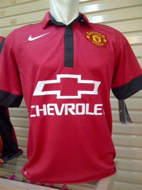 jersey manchester united home chevrolet big match jersey toko grosir dan eceran jersey grade