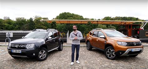 renault duster 2018 2018 dacia duster faces its predecessor in first review