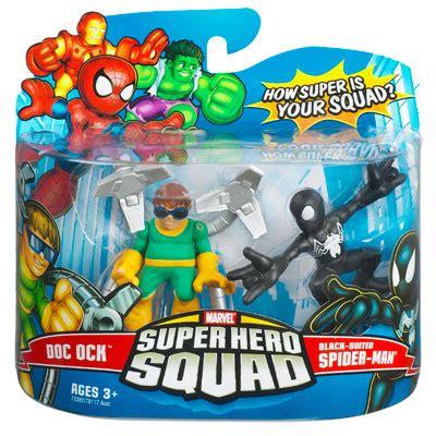 Figure Transformers Shs doc ock black suited spider squad