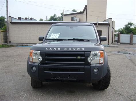 how things work cars 2006 land rover discovery lane departure warning pictures of land rover discovery iii 2006 auto database com