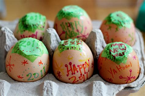 new year egg radmegan in words and pictures confetti eggs for