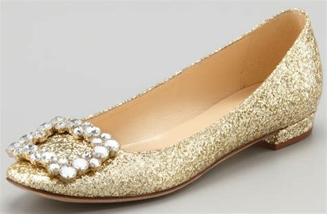 gold flat shoes for sparkly gold wedding shoes pointed ballet flats