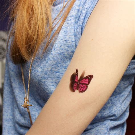 temporary tattoo paper nail art 3d butterfly tattoo decals body art decal flying butterfly