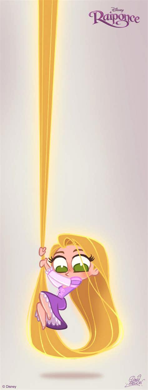 imagenes de rapunzel kawaii rrc luz y oscuridad imagen de chibi rapunzel en una