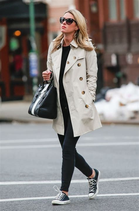 Style Nicky Fabsugar Want Need 5 by Nicky S Classic Trench And Converse Sneakers You