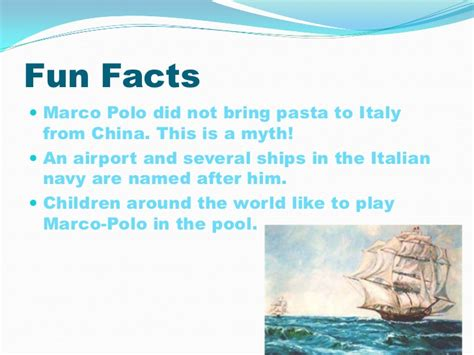 marco polo facts biography travels pptversion2