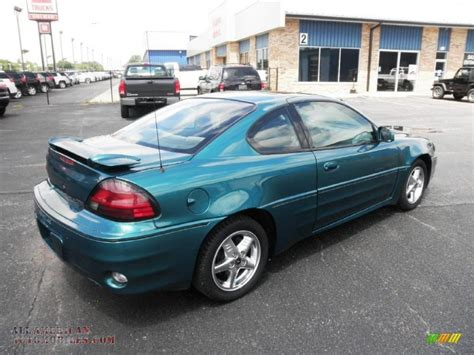 1999 pontiac grand am gt coupe 1999 pontiac grand am gt coupe in medium green blue