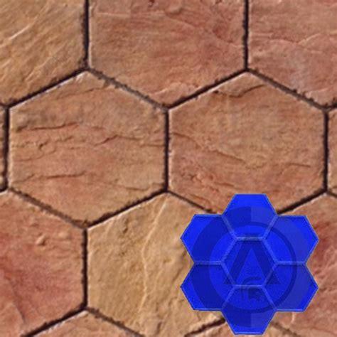 moldes para cemento hexagonal
