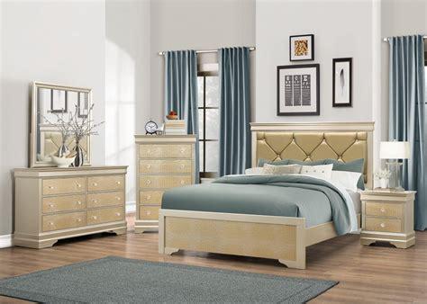 abel gold dresser mirror queen bed abel gold bedroom sets price busters furniture