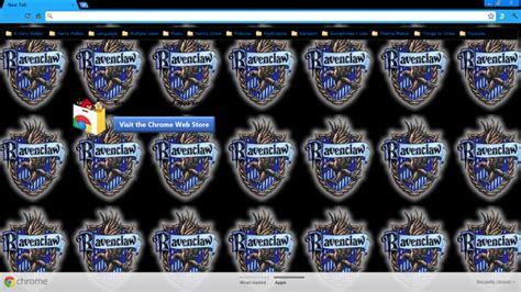 themes google chrome harry potter harry potter ravenclaw chrome theme themebeta