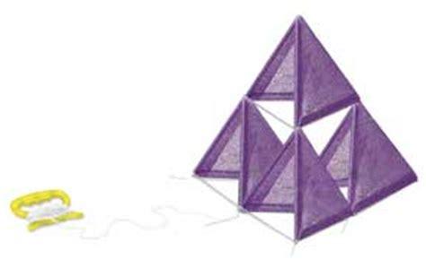 tetrahedron kite template renewable resources tetrahedron kite education world