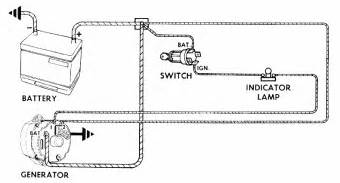 wiring diagram chevrolet one wire alternator wiring