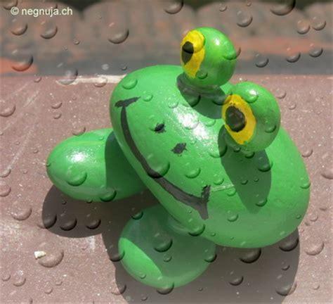 Steine Bemalen Frosch by Negnuja Natur Basteln