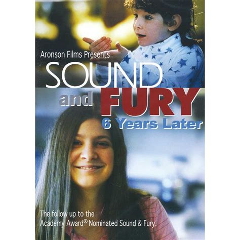 Sound And Fury sound fury six years later six years later dvd harris