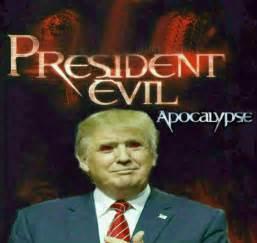 donald trump as a president evil