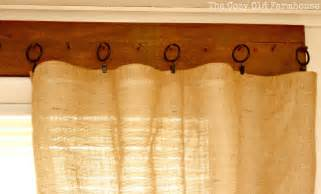 Rustic Kitchen Curtains The Cozy Quot Farmhouse Quot We Finally Curtains