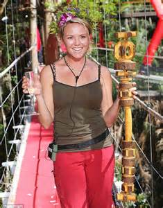 celebrity jungle members jungle queen charlie brooks was on the verge of walking