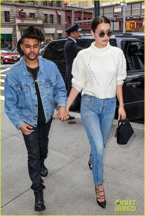 Sweater The Weeknd Fair the weeknd hadid are reportedly on a photo 3538401 hadid split the