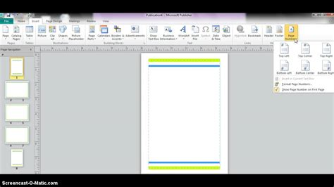 microsoft publisher booklet youtube