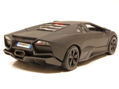 Bburago 1 24 Lamborghini Reventon Matte Grey lamborghini reventon 2007 burago 1 24 autos