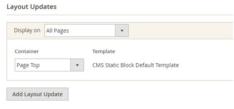 layout update xml static block how to add custom notices to page top magentoxchanger