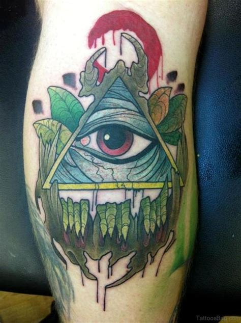 all seeing eye tattoo 31 eye tattoos on leg