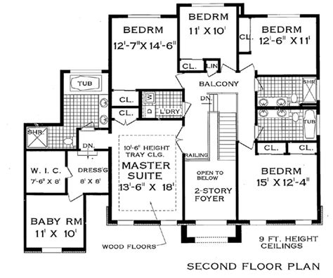 grand floor plans grand colonial 2902 4711 7 bedrooms and 4 baths the