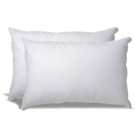 What Is Alternative Pillow Made Of by Set Of 2 Alternative Hypoallergenic Pillow