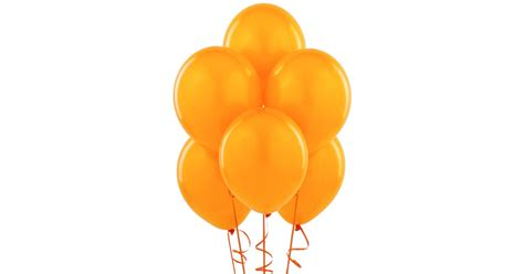 up a balloon with orange orange matte balloons 6 birthdayexpress