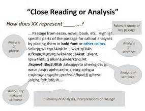 Critical Reading Essay Exle by Beyond The Essay Iii Center For Teaching Vanderbilt
